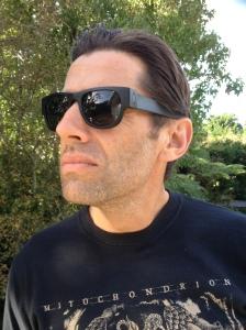 Owen wearing his SlapSee sunnies